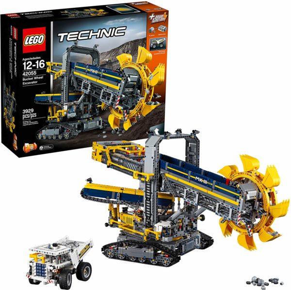 LEGO Technic Emmerwiel Graafmachine – 42055
