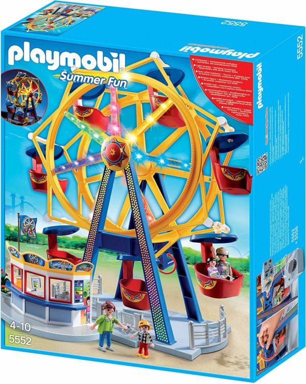 PLAYMOBIL Kermis Groot draairad met kleurrijke verlichting - 5552
