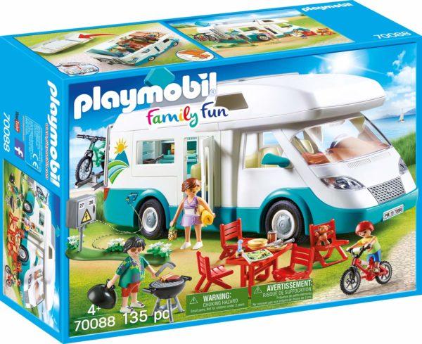 PLAYMOBIL Mobilhome met familie – 70088