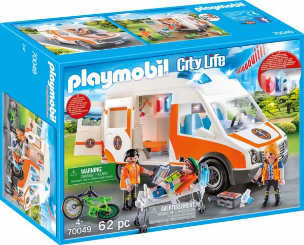 PLAYMOBIL Ambulance en ambulanciers – 70049