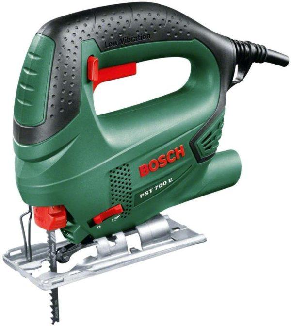 Bosch Home and Garden Pst 700 E Decoupeerzaag, 1 zaagblad T 144 D, voor hout, koffer, groen