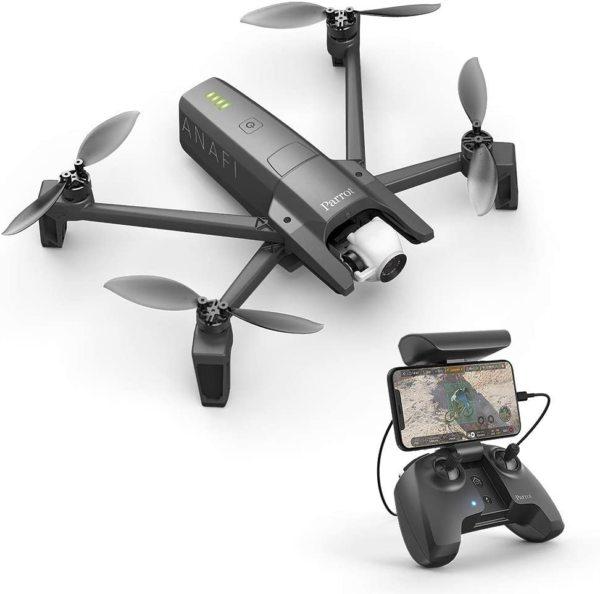 Parrot Anafi Drone, de ultracompacte, vliegende 4K HDR-camera