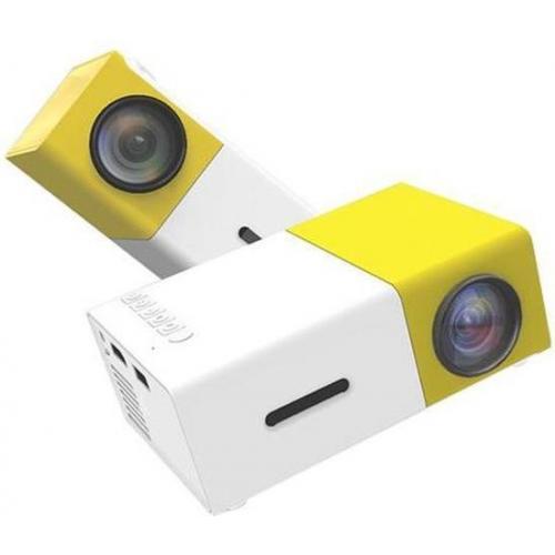 Mini Beamer Full HD 1080P - Mini Projector Led - Draagbare Pocket Beamer